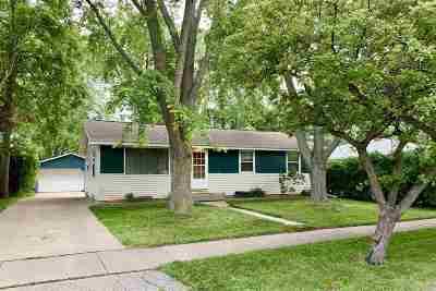 Menasha Single Family Home Active-No Offer: 908 4th