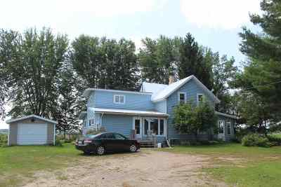 Shawano Single Family Home Active-No Offer: N4298 Spruce