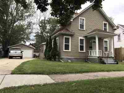 Menasha Single Family Home Active-No Offer: 337 2nd