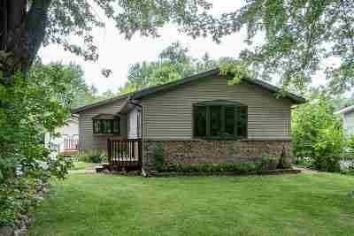 Neenah Single Family Home Active-Offer No Bump: 1130 N Lake