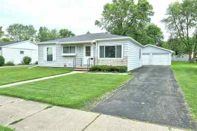 Neenah Single Family Home Active-Offer No Bump: 1047 Sterling