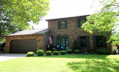 Oshkosh Single Family Home Active-Offer No Bump: 1414 Lake Breeze