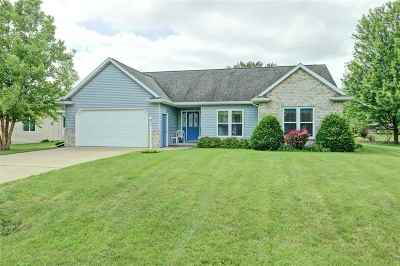 Neenah Single Family Home Active-Offer No Bump: 1841 Susan