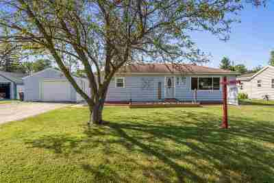 Menasha Single Family Home Active-No Offer: 977 Home