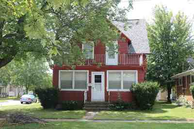 Appleton Multi Family Home Active-Offer No Bump: 1107 W Franklin