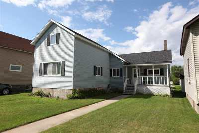 Marinette Single Family Home Active-No Offer: 708 Terrace