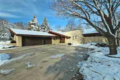 Appleton Single Family Home Active-No Offer: 2832 E Crestview