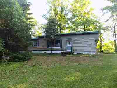 Oconto County Single Family Home Active-No Offer: 17264 Mosquito Lake