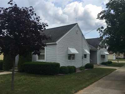 Menominee Single Family Home Active-No Offer: 1517 17th