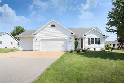 Appleton Single Family Home Active-Offer No Bump: W2924 Stillwater