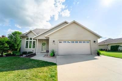 Appleton Single Family Home Active-Offer No Bump: 4027 E Ashbury