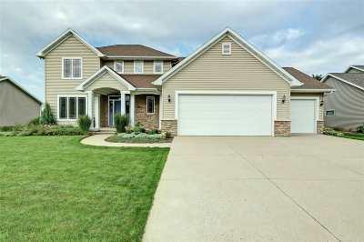 Appleton Single Family Home Active-No Offer: 4517 N Habitat
