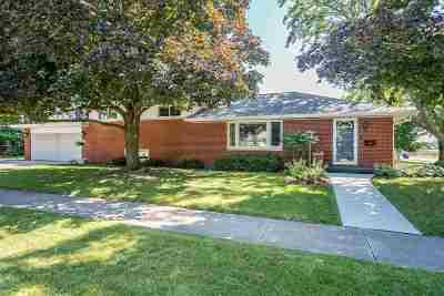 Appleton Single Family Home Active-No Offer: 2412 N Erb