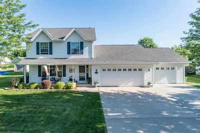 Appleton Single Family Home Active-No Offer: W5456 White Clover