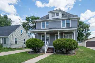 Menasha Multi Family Home Active-No Offer: 813 Milwaukee