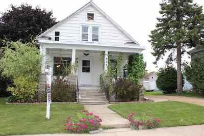 Menasha Single Family Home Active-No Offer: 620 1st