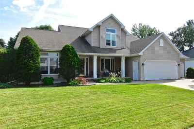 Appleton Single Family Home Active-No Offer: 617 E Carrington