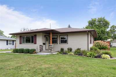 Combined Locks Single Family Home Active-Offer No Bump: 613 Linda