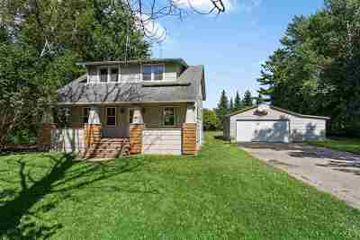 Appleton WI Single Family Home Active-Offer No Bump: $135,000