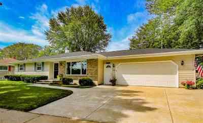 Appleton Single Family Home Active-No Offer: 2105 S Telulah