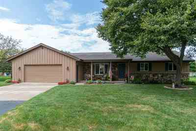 Neenah Single Family Home Active-Offer No Bump: 1416 Ridgeway