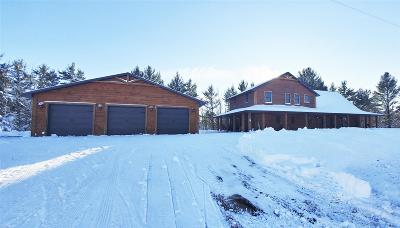 Marinette County Single Family Home Active-No Offer: 111 Pike River
