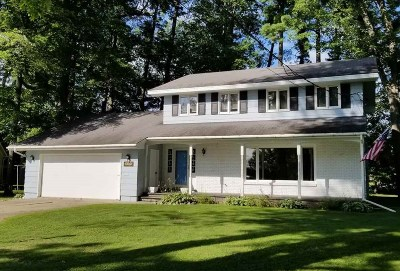 Shawano Single Family Home Active-No Offer: 118 Hotz