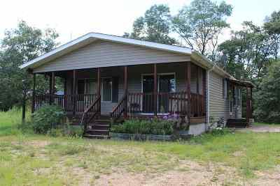Shawano Single Family Home Active-No Offer: N6909 Wescott