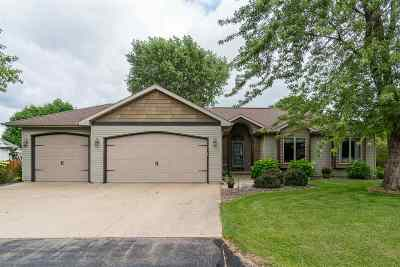 Appleton Single Family Home Active-No Offer: W2378 Snowberry