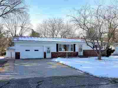 Waupaca Single Family Home Active-No Offer: N2711 Richard
