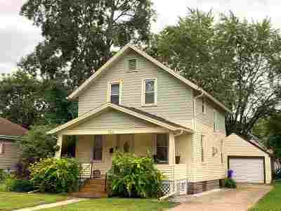 Appleton WI Single Family Home Active-Offer No Bump: $133,900