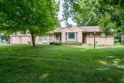 Oshkosh Single Family Home Active-No Offer: 1618 Menominee
