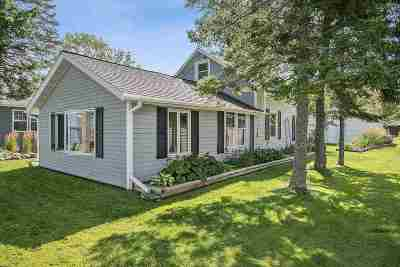 Shawano Single Family Home Active-No Offer: W5406 W Sandy