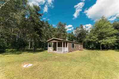 Shawano County Single Family Home Active-No Offer: W9604 Evergreen