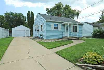 Appleton Single Family Home Active-No Offer: 1443 E Pauline