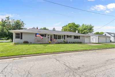 Menasha Single Family Home Active-No Offer: 636 Elizabeth