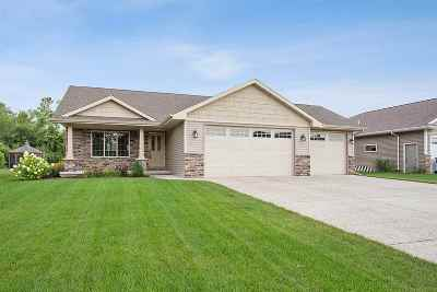 Menasha Single Family Home Active-No Offer: N8945 Spring Valley