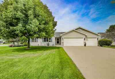 Appleton Single Family Home Active-No Offer: 1658 Kaylee