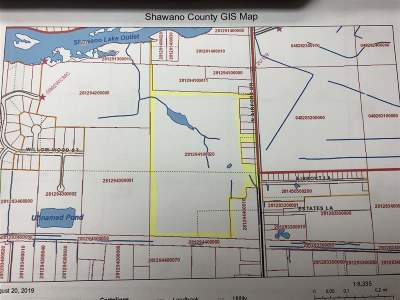 Shawano County Residential Lots & Land Active-No Offer: Airport