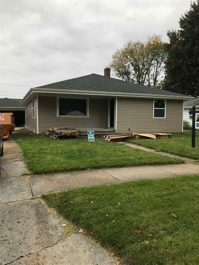 Appleton WI Single Family Home Active-Offer No Bump: $139,900