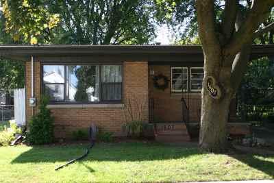 Oshkosh Single Family Home Active-No Offer: 1607 Mt Vernon