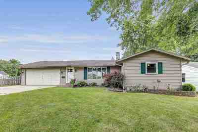 Green Bay Single Family Home Active-No Offer: 1294 Thorndale