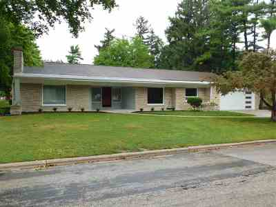 Green Bay Single Family Home Active-No Offer: 2540 Beaumont