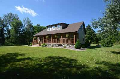 Oconto Single Family Home Active-No Offer: 4185 Hwy J