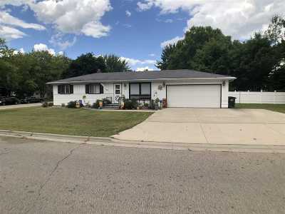 Shawano Single Family Home Active-Offer No Bump: 1107 E Lieg