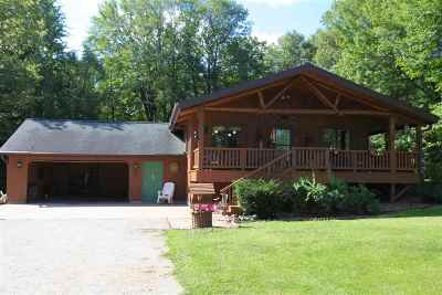 Marinette Single Family Home Active-No Offer: W3355 Hwy 64