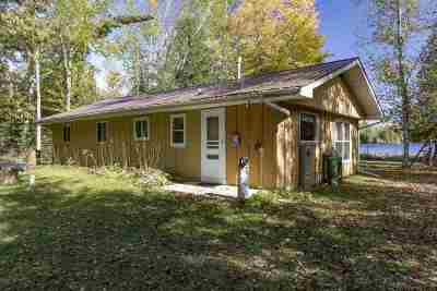 Oconto County Single Family Home Active-No Offer: 16045 N Big Island