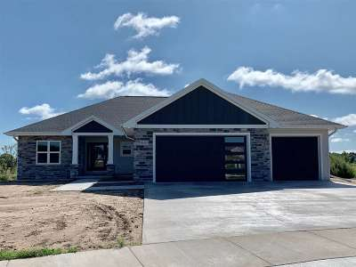 Green Bay Single Family Home Active-No Offer: 4228 Downton