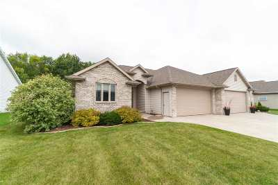 Menasha Single Family Home Active-No Offer: N9029 Spring Valley