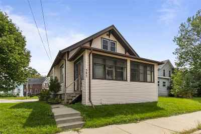 Menasha Single Family Home Active-No Offer: 383 Ahnaip